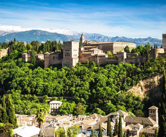 Granada vista dell'Alhambra