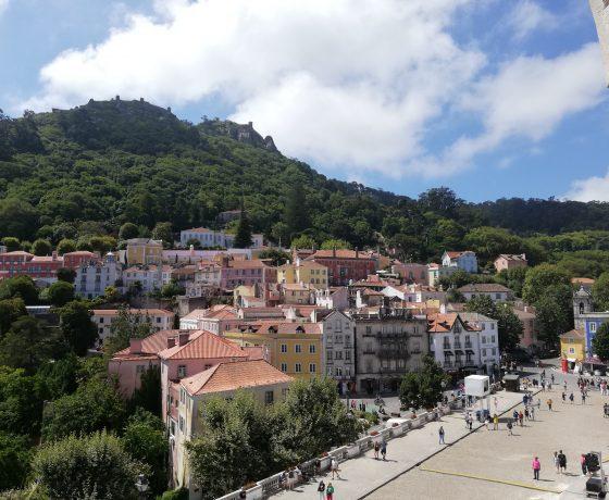 vista della città di Sintra