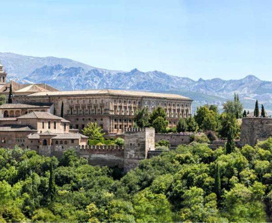 vista dell'Alhambra tour andalusia Granada Alhambra